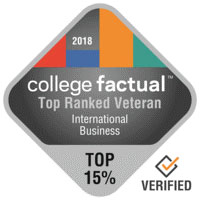 top ranked veteran international business college factual