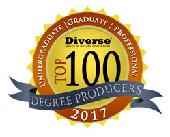 top 100 diverse degree producers