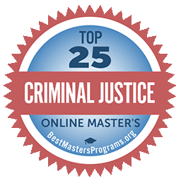 top 25 online masters badge