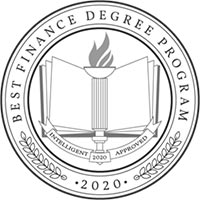 best finance degree badge