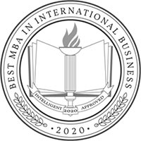 best mba international business badge