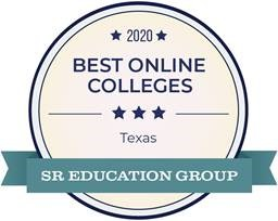Best online college 2020 badge
