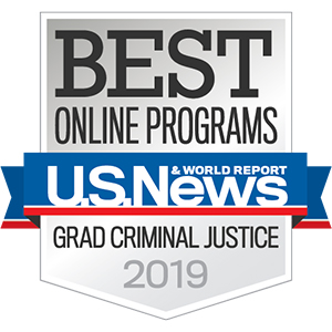 2019 Best Online Programs for Master's in Criminal Justice Program
