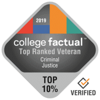 top ranked veteran criminal justice college factual