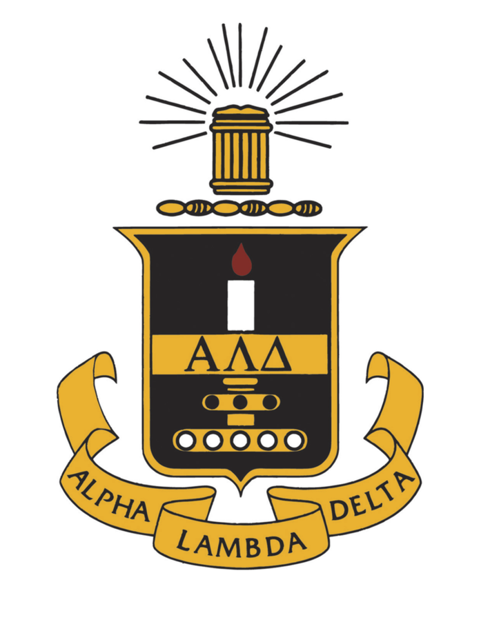 ​Alpha Lambda Delta: First Year Honor Society logo