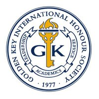 ​Golden Key International Honor Society log