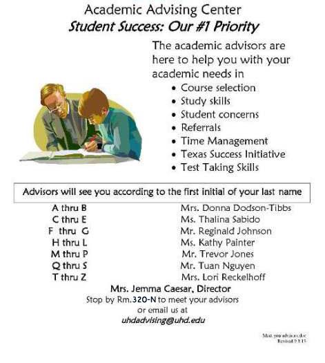 Academic Advising Center   Major Opportunities at the University ...