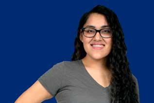 Photograph of sociology student Veronica Montes