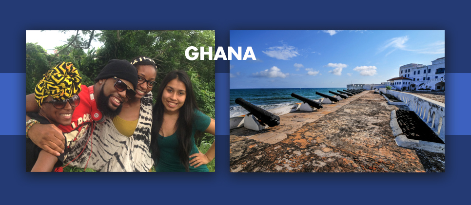 two photos from Ghana Africa