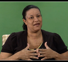 Still frame of Assistant Dean Crystal Guillory on her video on What is Critical Race Theory