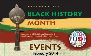 Black History Month Graphic for 2014