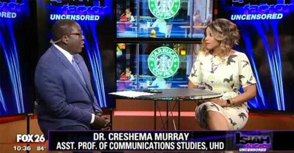 Isiah Carey Interviewing Dr. Creshema Murray