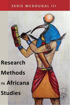 "Cover of McDougal's book ""Research Methods in Africana Studies"""