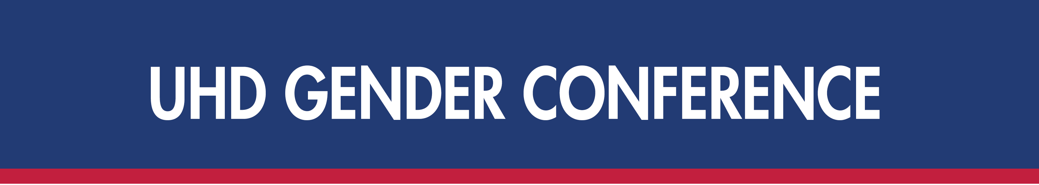 UHD Gender Conference header image
