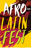 pattern from Afro Latino Music and Culture flyer