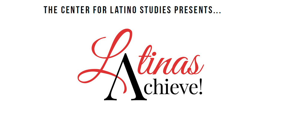 Link to Latinas Achieve page with logo for Latinas Achieve