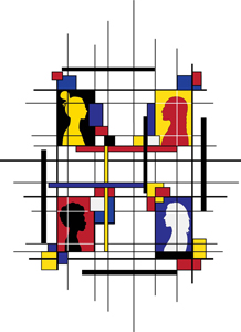 Viktoriya Kurgina, Cells and Grids - Women of the World, Studio Processes For Portfolio Building
