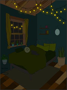 Jewel Servin, (Bedroom), Studio Processes For Portfolio Building
