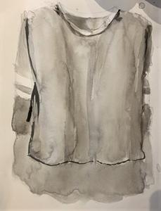 hand drawn long sleeve shirt