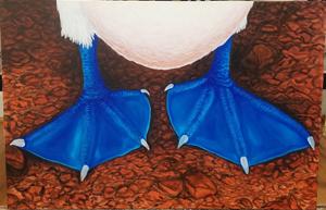 Chloe Streeter, (Duck Feet), Painting II