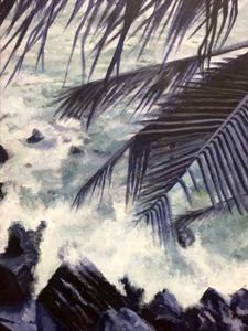 Hoa Nguyen, (Palm), Painting II