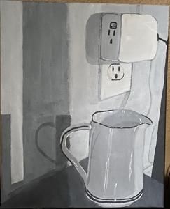 Arianna Ramirez, (Still Life), Painting I
