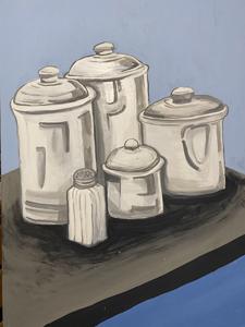 Nahum Parada, (Still Life), Painting 1