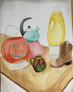 Selena Hernandez, Watercolor I