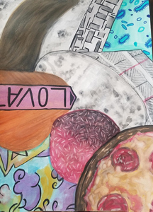 Chloe Streeter, Watercolor I