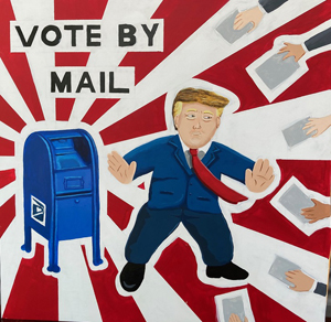 Edwin Guevara, Vote by Mail, Special Topics in Art: Murals ClassI
