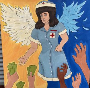 Emelia (Emily) Martinez, Healthcare for the Rich, Special Topics in Art: Murals ClassI