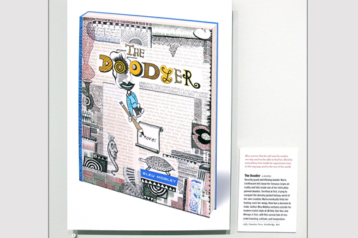 Bleu Mobley A Life in Books - The Doodler
