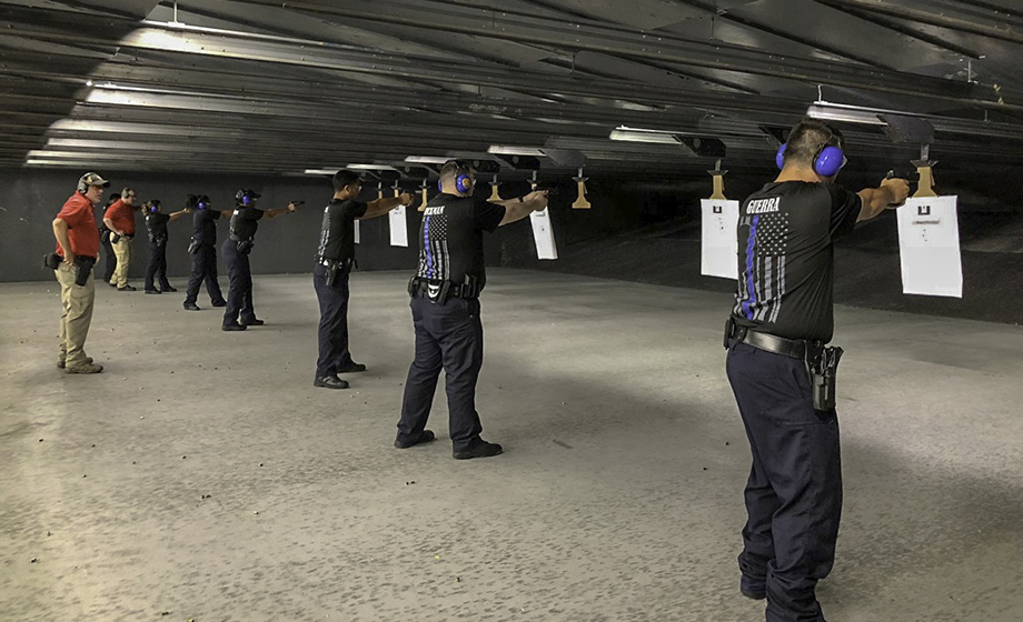 cadets fire range line up