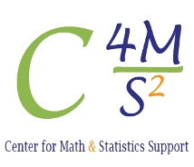 Center for Math & Statistic Support Logo