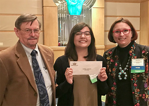UHD Honors Student Awarded McDonald Scholarship winnrt Alondra J. Morillon