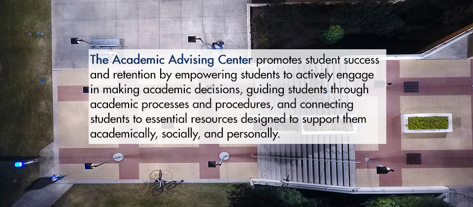 Academc Advising Center graphic