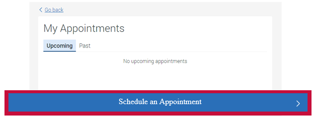 Schedule a Appointment