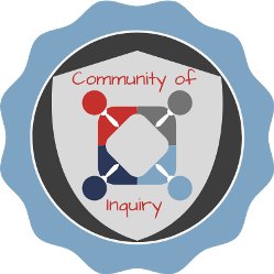 Community of Inquiry badge