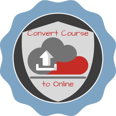 Converting a FTF Course to Online Badge