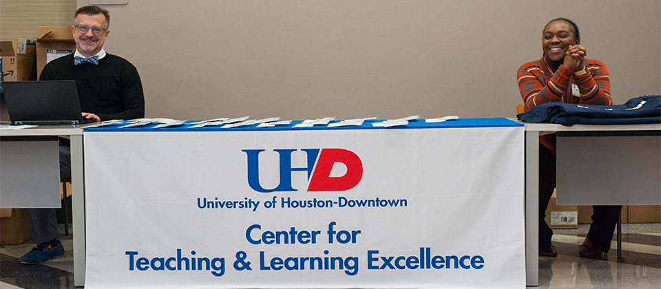 University of Houston-Downtown's Teaching & Learning Symposium Keynote Speaker:
