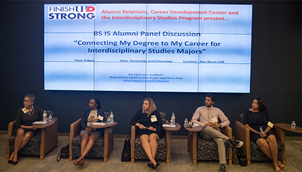 BS IS Alumni Panel Discussion