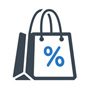 shopping bag graphic