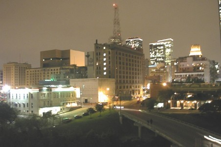 South Deck Night View of Downtown