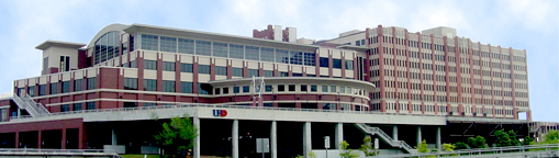 view of the Academic Building and the One Main Building