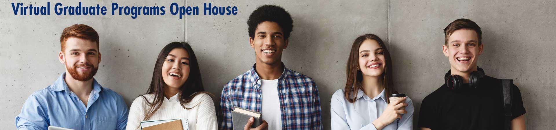 Virtual graduate programs open house