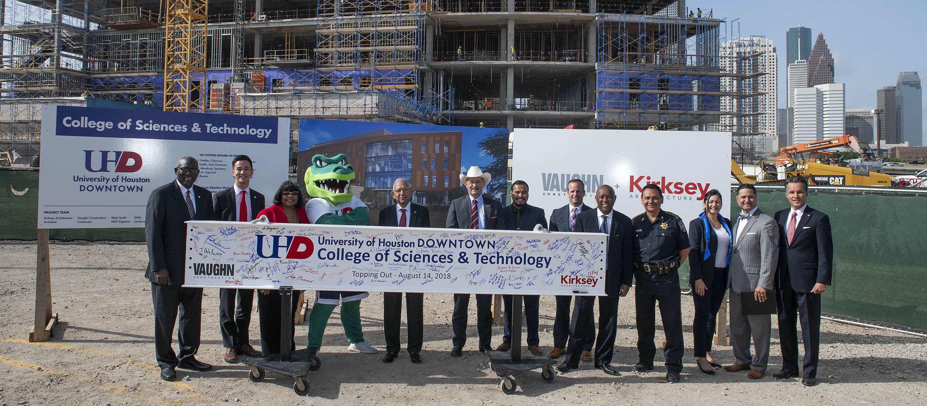 UHD College of Sciences and Technology Topping Off