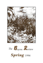 Bayou Review Spring 1996 Cover