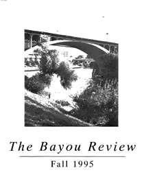 Bayou Review Fall 1995 Cover