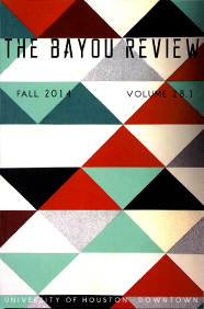Bayou Review Fall 2014 cover