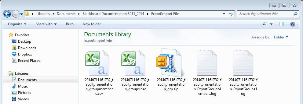 a screenshot of the Extract Files screen